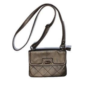 Relic brand, shoulder bag, metallic